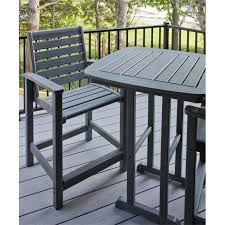 High Top Patio Dining Set Chic Idea High Top Outdoor Table Excellent Ideas Great Furniture