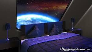 starship sleeping quarters sleep sounds white noise with deep