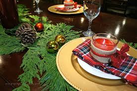 simple christmas table settings simple holiday home diy holiday candle favors for the christmas table