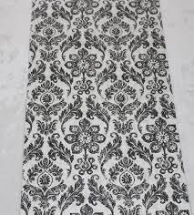 Self Stick Wallpaper by Damask Distressed Peel Stick Wallpaper Black Mushroom Self