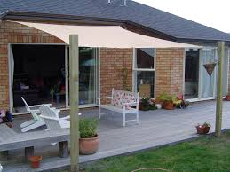 How To Install A Retractable Awning How To Build Backyard Shade Structures Home Outdoor Decoration