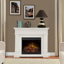 White Electric Fireplace With Bookcase Fireplaces Costco