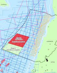 Lebanon World Map by Spectrum Extends Mc3d Coverage Offshore Lebanon Spectrum Geo