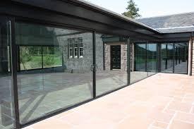 nice eaves detail on glazed extension ideas for inside