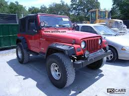 1997 jeep wrangler specs 1997 jeep wrangler car photo and specs
