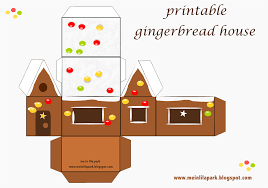 7 best images of gingerbread house printables free printable
