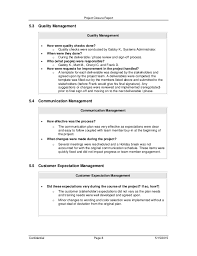 closure report template c burcham project closure report