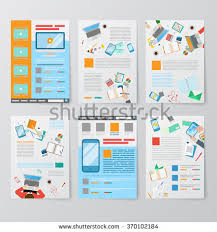 ux report template responsive design creation prototyping ui ux stock vector
