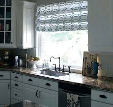 kitchen window treatment ideas pictures interior large kitchen window curtain ideas42 delightful curtains