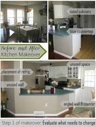 Kitchen Before And After Makeovers Before And After Kitchen Makeover Jenna Burger
