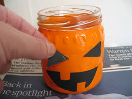 Mason Jar Halloween Lantern Craft With Jack Halloween Jam Jar Lantern
