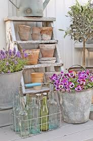 Shabby Chic Garden Decorating Ideas 83 Best Shabby Outdoor Decor Images On Pinterest Backyard Ideas