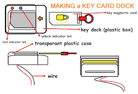 d i y card electric door lock 3 steps