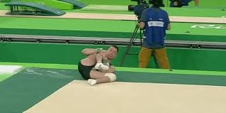 Hit The Floor German - gymnast andreas toba injures knee but still competes to help