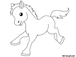 coloring pages kids homepage animal print out farm pony baby
