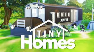 the sims 4 building tiny homes bus renovation youtube