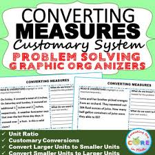 convert customary units of measure word problems with graphic