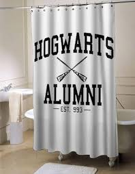 harry potter bathroom accessories hogwarts alumni harry potter shower curtain customized design for