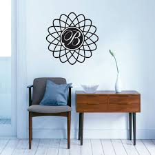 monogram wall decals sweetums wall decals