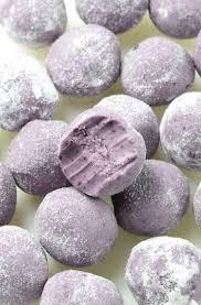 white chocolate blueberry truffles omg chocolate desserts