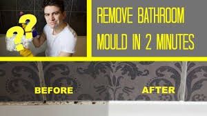 bathroom mould removal how to get rid of bath shower mold youtube