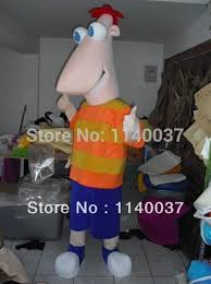 Phineas Halloween Costume Buy Wholesale Phineas Ferb Costume Adults