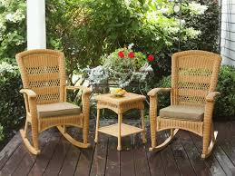 Patio Rocking Chairs Wood Outdoor Outside Wooden Rocking Chairs Brown Outdoor Rocking