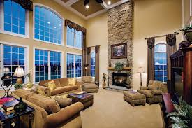 Coffered Ceiling Two Story Faily Room Google Search Family - Two story family room