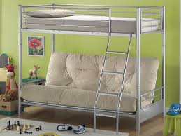 Joseph Futon Bunk Bed High Sleeper With Double Futon - Futon bunk bed frame