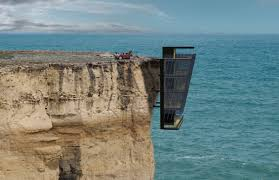 living life on the edge cliff house by modscape ferrvor