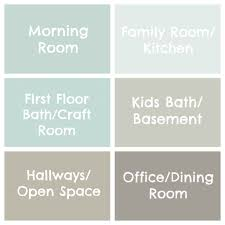 Coordinating Paint Colors by Seaside Interiors The Paint Colors Of My House