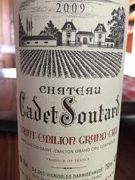 learn about chateau soutard st 2009 château soutard cadet bordeaux libournais st
