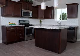 mocha kitchen cabinets mocha rta shaker cabinets knotty alder cabinets