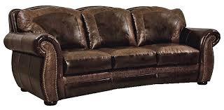 bradley u0027s furniture etc artistic leather premium rustic sofas