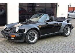 porsche sport classic used porsche 911 convertible 3 2 classic carrera super sport