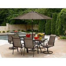furniture broken glass table with chairs martha stewart patio