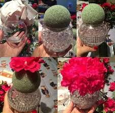Carnation Flower Ball Centerpiece by Diy Pomander Centerpiece Round 3 Wedding Carnation Centerpiece
