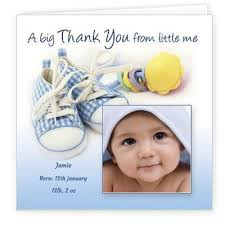baby thank you cards baby thank you cards mybabycards