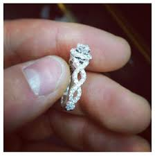 twisted band engagement ring best 25 twist engagement rings ideas on engagement