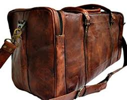 Rugged Duffel Bags True Grit Leather