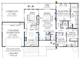 home design simple modern house floor plans farmhouse comp hahnow