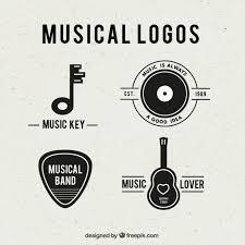 imagenes logos musicales logotipos musicales descargar vectores gratis