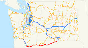 Oregon State Road Map by Washington State Route 14 Wikipedia