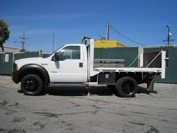 ford f550 for sale 2007 ford f550 10 flatbed with lift gate and only 5 779 original