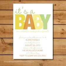gender neutral baby shower invitation wording ideas archives