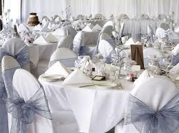 Chiffon Chair Sash 50 Silver Organza Chair Covers Sash Bow Wedding Party Chair