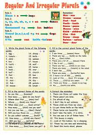 15 best plural gor images on pinterest plurals worksheets