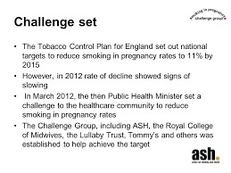 Challenge Rate Cessation In Pregnancy A Review Of The Challenge