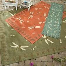 Dragonfly Indoor Outdoor Rug Bold Pole Curtain Rods Fresh Finds Great For An Apartment
