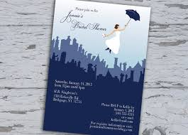where to register for a bridal shower poppins bridal shower invitation custom by kelliececilia